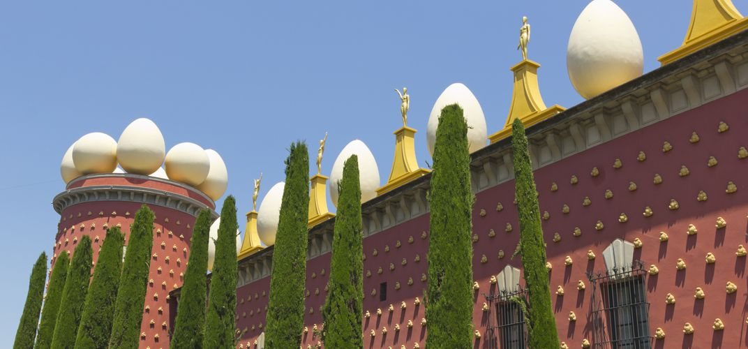 The museum devoted to the work of Salvador Dalí