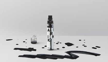 This Ink Is Made From Air Pollution