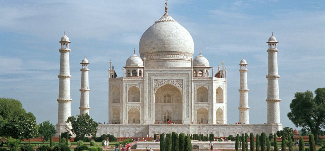 The iconic Taj Mahal