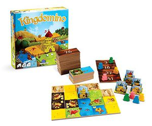 Preview thumbnail for 'Blue Orange Games Kingdomino Award Winning Family Strategy Board Game