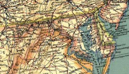 The Secret to National Geographic's Maps Is an 80-Year-Old Font