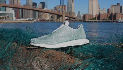 Adidas Just Made a Running Shoe Out of Ocean Trash