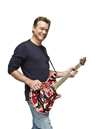 6ff77907227 Eddie Van Halen recently donated his custom-made guitar named Frankenstein  2 to the National Museum of American History. (Clay Patrick McBride    Contour by ...