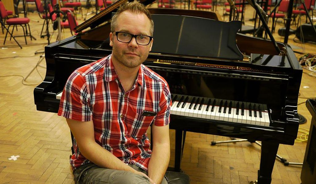 Composer Johan Holmström has created the music for more than a dozen popular games.