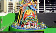"At Behest of Derek Jeter, Marlins Park's Much-Ballyhooed Statue ""Homer"" Is Going, Going, Gone"