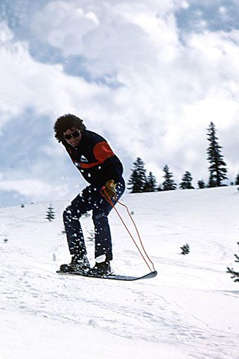 an analysis of jake burton and the history of snowboarding In the mid 1960s, jake burton was one of the thousands of young people who enjoyed surfing on snow with sherman poppen's snurfers in 1977, burton was surprised to.
