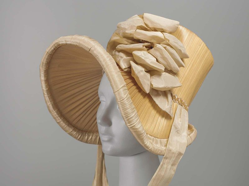 Straw Bonnet