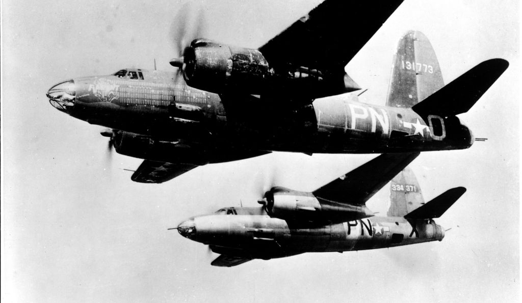 For its 200th mission, Flak-Bait lead the entire 322nd Bombardment Group to bomb Magdeburg, Germany.