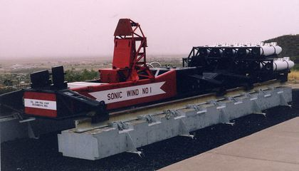 Record-Breaking Rocket Sled Created Modern Safety Standards