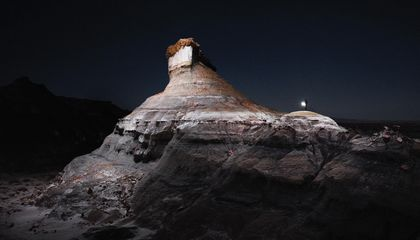 These Drone-Lit Photos of the American West Are Straight Out of a Science Fiction Novel