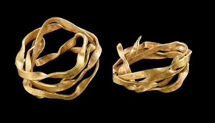Did a Bronze Age Woman Wear This 3,800-Year-Old Gold Spiral in Her Hair?