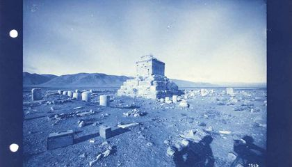 How a German Archaeologist Rediscovered in Iran the Tomb of Cyrus