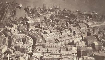 This Picture of Boston, Circa 1860, Is the World's Oldest Surviving Aerial Photo