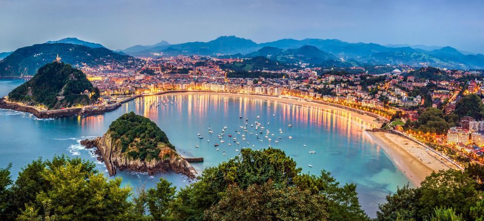 France and Spain's Basque Region <p>Settle in and explore the cultural traditions of sophisticated resorts and art havens as well as gem-like villages dotting the Bay of Biscay and nestled amid the Pyrenees.</p>
