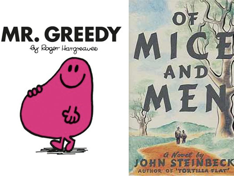 Study Suggests 'Mr. Greedy' Children's Book Is Almost as Hard to Read as Steinbeck Classics