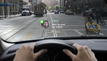 Navdy Projects Apps and Text Messages Onto the Windshield of Almost Any Car