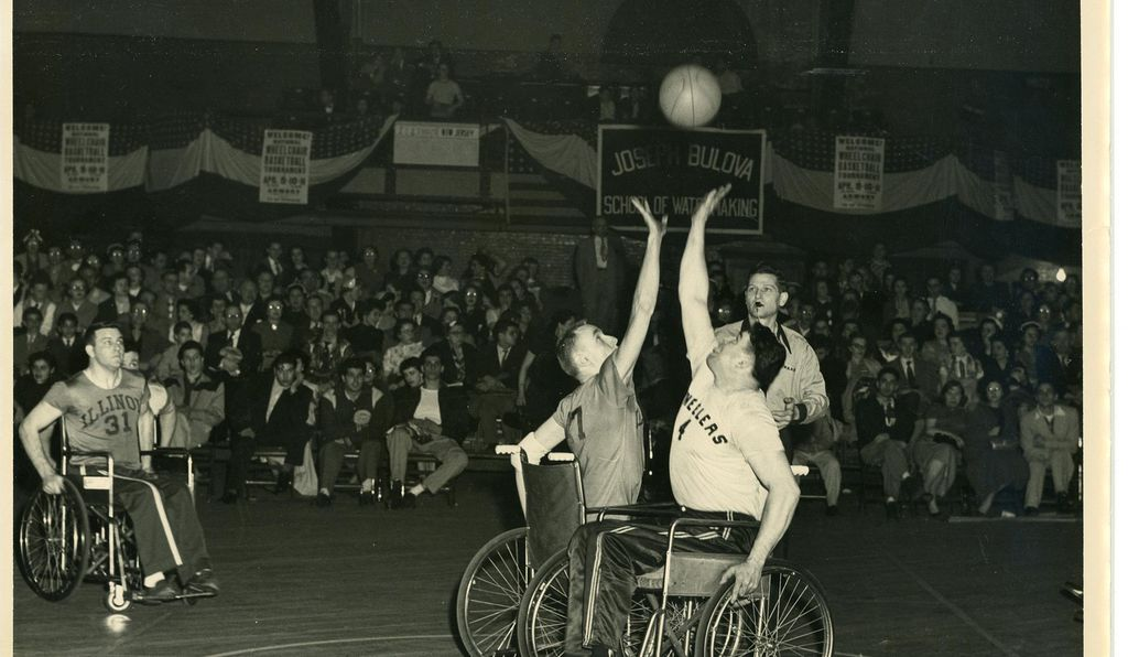Ray Werner taking the tip off for the Jersey Wheelers