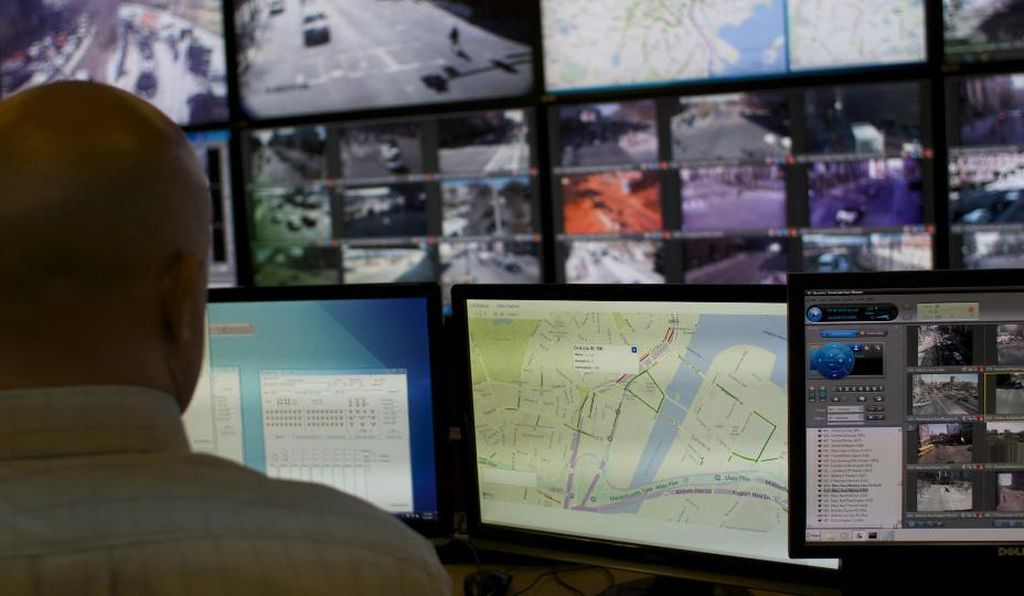 """Most people don't think there are eyes and ears keeping track of all this stuff,"" says John DeBenedictis, engineering director at the traffic control center in Boston."