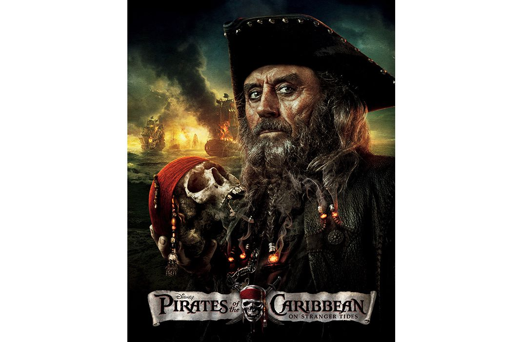 Hollywoods Latest Blackbeard Ian McShane In The Fourth Pirates Of Caribbean Walt Disney Pictures Kobal Collection Art Resource