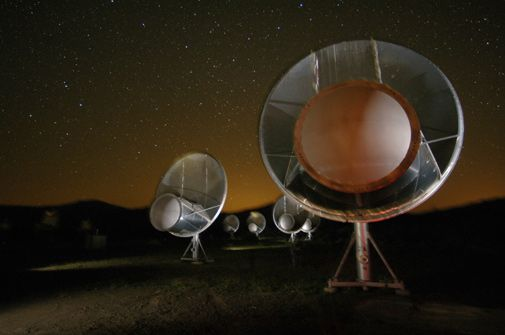 The first radio observatory built for SETI turns on and tunes in.