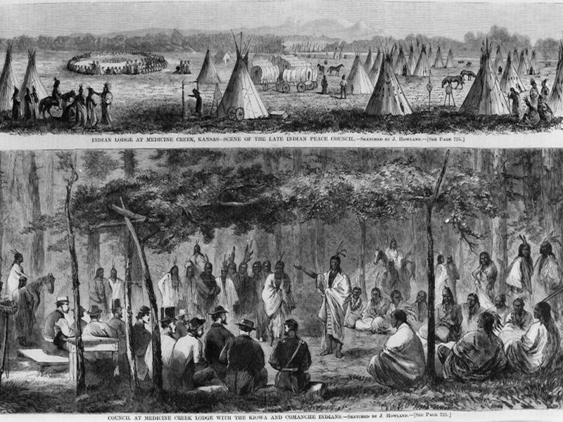 How The 1867 Medicine Lodge Treaty Changed The Plains Indian Tribes