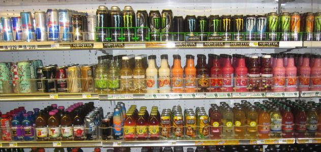 What puts the buzz in energy drinks?