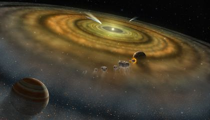 Super-Strong Electric Forces May Have Helped Tiny Clumps of Dust Seed the Planets