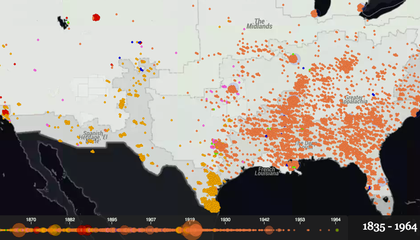 This Map Shows Over a Century of Documented Lynchings in the United States
