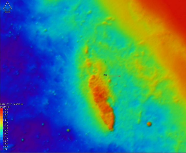 shipwreck found using sonar