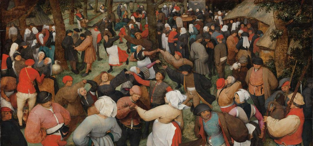 Bruegel's <i>The Wedding Dance</i>, Detroit Institute of Arts. Credit: Detroit Institute of Arts