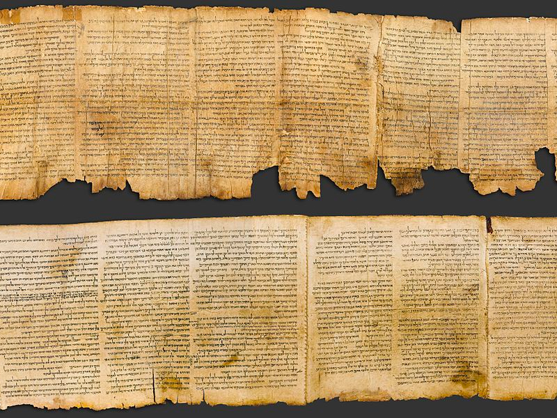 High-resolution scan of the Great Isaiah Scroll