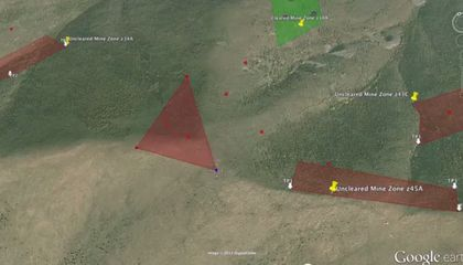 Google Earth Is Lending a Hand with Land Mine Clearing in Kosovo