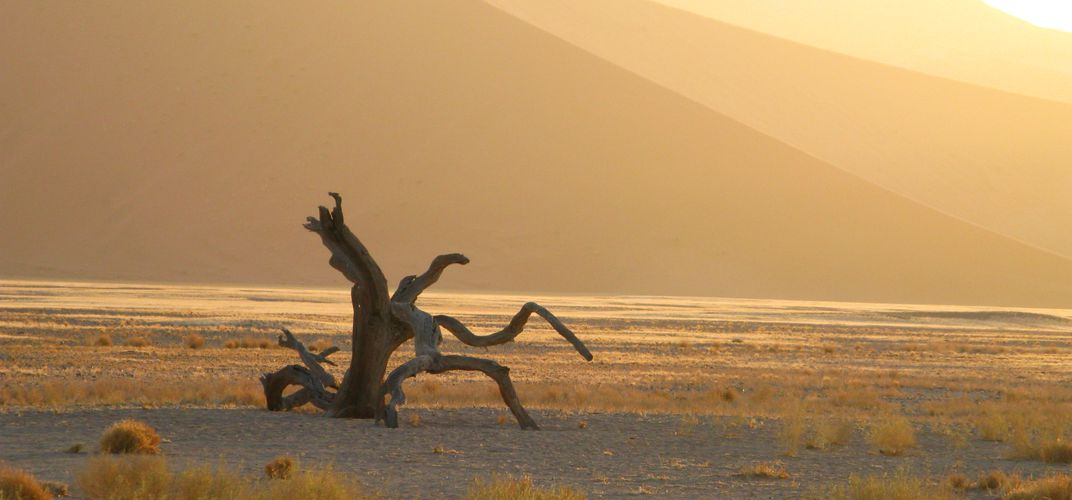 Sunset at Sossusvlei Namibia