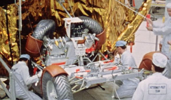 Preview thumbnail for video'The Design of the Lunar Rover Was Mostly Guesswork