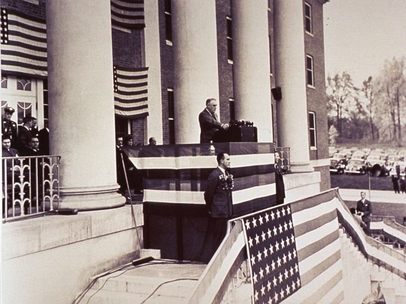 Roosevelt at NIH