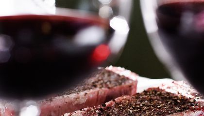 The Science Behind Steak and a Bold Bordeaux