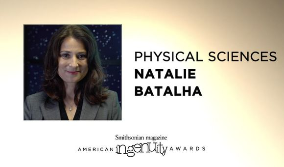Preview thumbnail for video'Meet Natalie Batalha, the Explorer Who's Searching for Planets Across the Universe