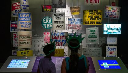 "New Exhibition Asks ""What Kind of Nation Do We Want to Be?"""