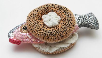 Look, But Don't Eat: Delicious Crocheted Dishes