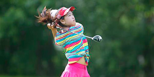 Tweens prove golf has no age limits