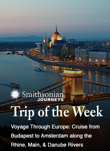 Caption: totw ahi  voyage  through  europe