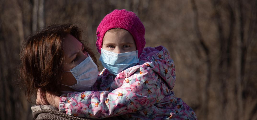 Caption: CDC Releases New Mask Guidelines