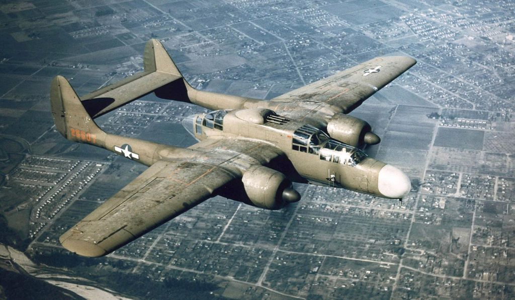 The Northrop P-61.