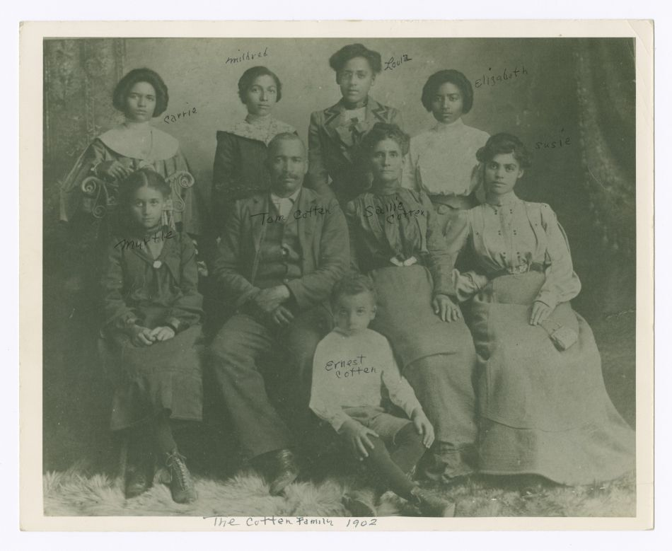 Cotten Family Photograph