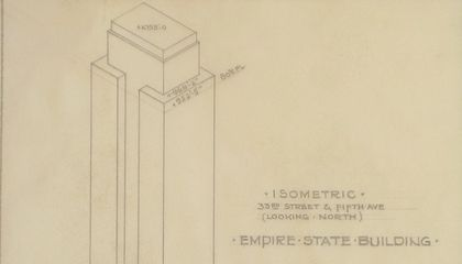 When the Empire State Building Was Just an Architect's Sketch