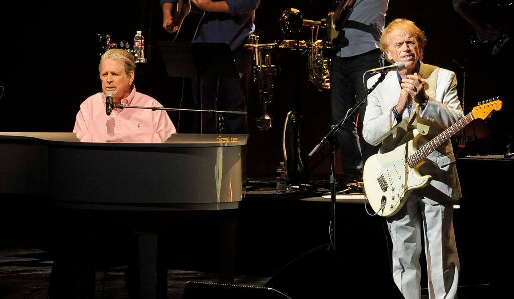 Brian Wilson and Al Jardine, both part of the original Beach Boys, are touring together as their own act.