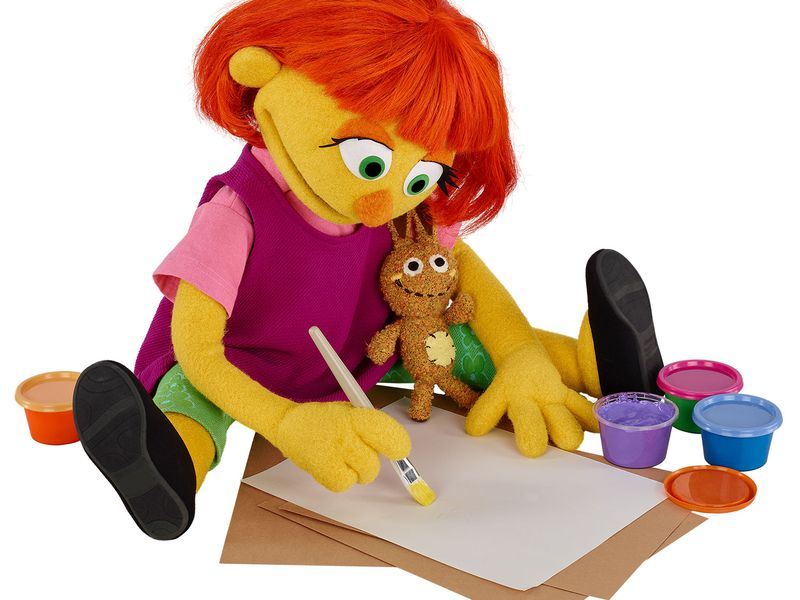 sesame street to introduce julia a muppet with autism smart news