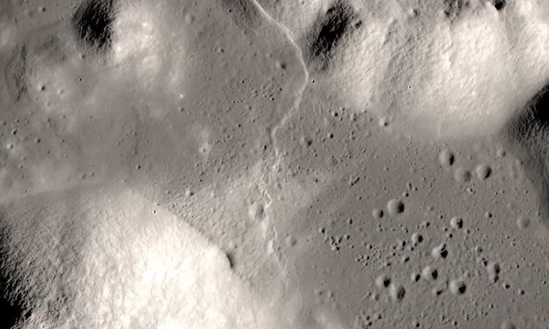 Image result for earthquakes on moon