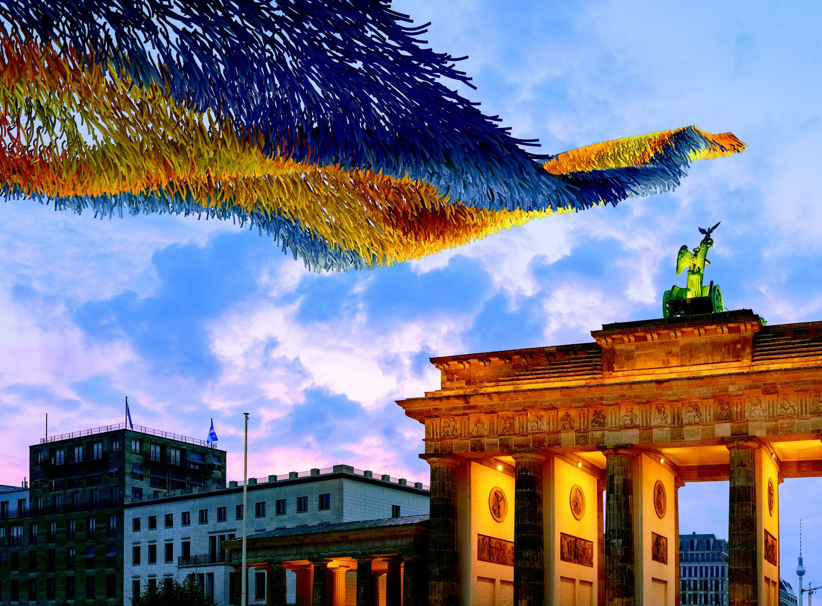 Thirty Years After Fall of Berlin Wall, a Citywide