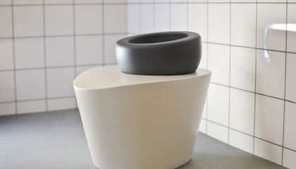 Reinvented: Futuristic Toilet Extolls the Health Benefits of Squatting